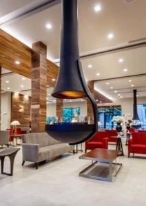 Lobby heater